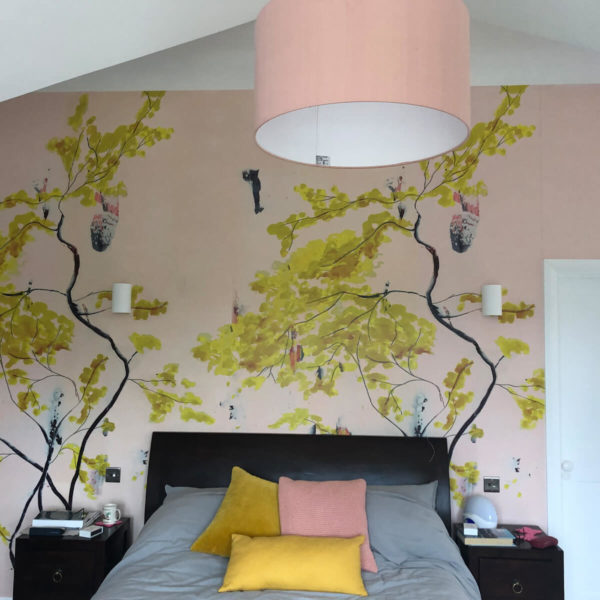 Bedroom with Feature Wall
